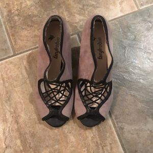 Farylrobin Suede leather sandals